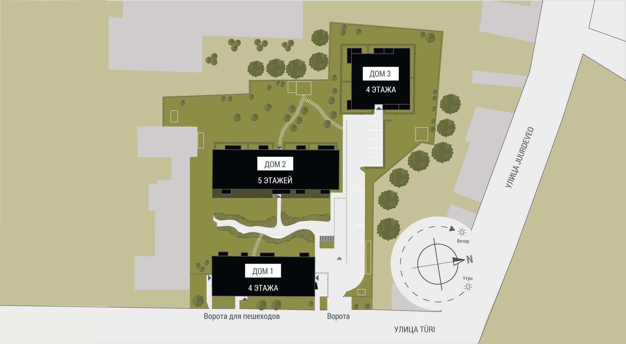 VT courtyard plan